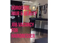 Hairdressing Chair to rent.