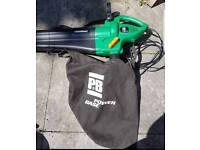 Powerful garden vac and leaf blower