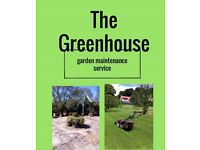 The greenhouse garden service ,does your garden need a tidy up ?give me a call