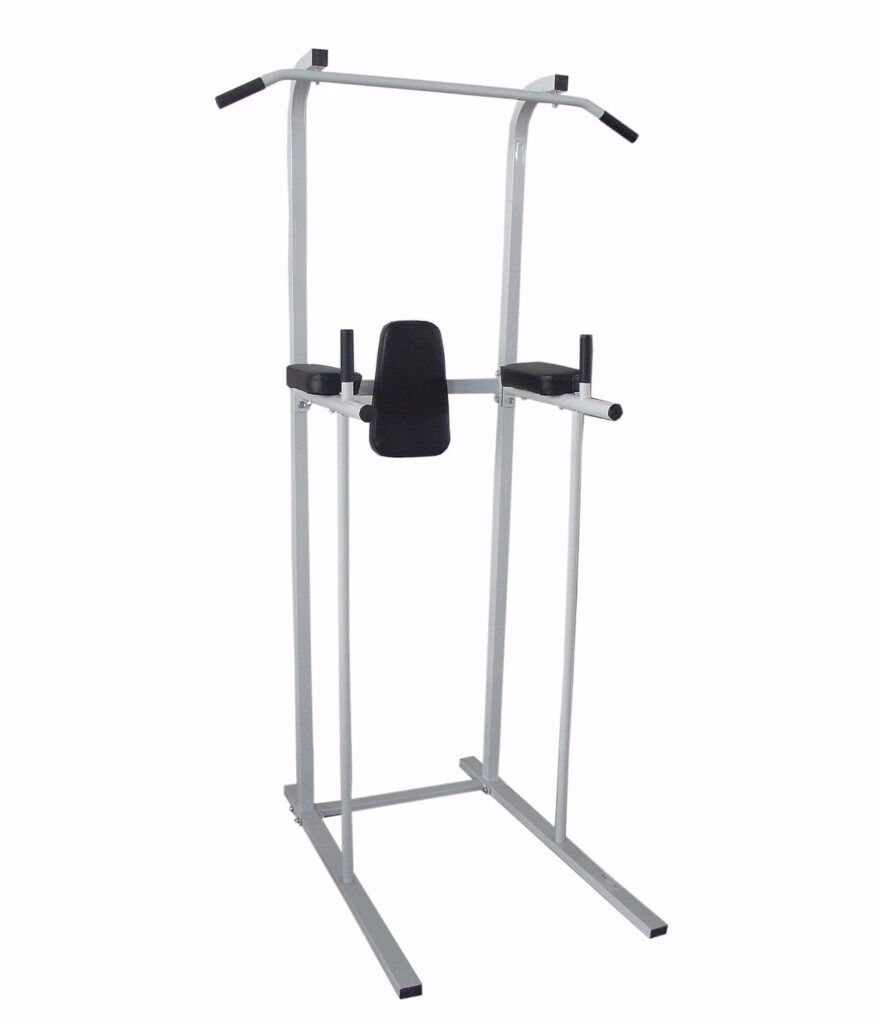 Fitness Power Tower Dip AB Pull/Chin Up Bar Station Home Gym Fitness Exercisein Hatfield, HertfordshireGumtree - Fitness Power Tower Dip AB Pull/Chin Up Bar Station Home Gym Fitness Exercise for sale. Used 2 months. Had to relocate and dont have space anymore. Packed in the box, ready to collect. Local pick up only (Hatfield). Can deliver within the 5 mile...