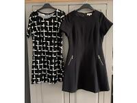 Size 12 Bundle 9 Dresses 4 Tops