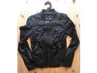 EDC by Esprit faux leather jacket S