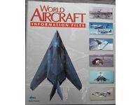 World Aircraft information files Books/book – post or collect