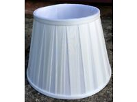 Brand new lamp silk shades from John Lewis
