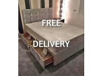 !*FREE DELIVERY*! New UK manufactured BEDS with FREE HEADBOARD AND DELIVERY