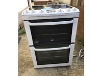 Zanussi White Electric Cooker