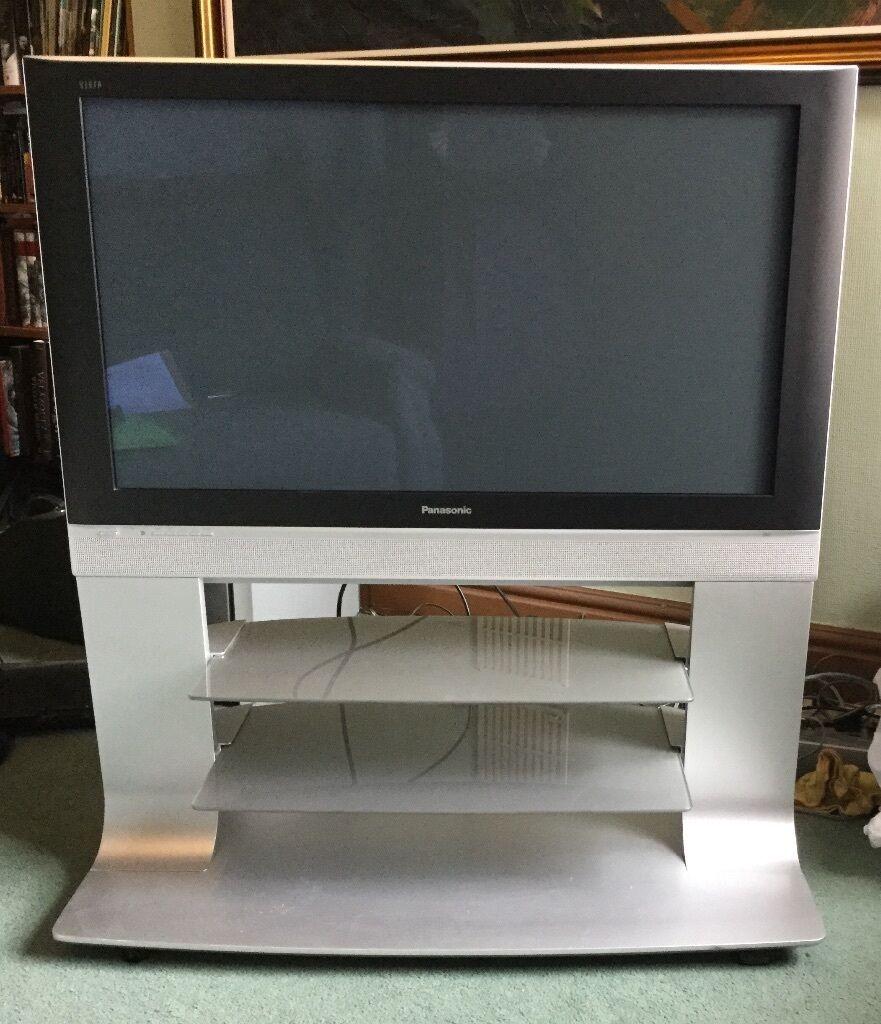 Panasonic Plasma Digital Progressive 42 Inch TV With Stand