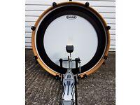"Mapex drum kit – full kit, excellent condition, 4 toms, hi-hats + 16"" crash, stool etc included"