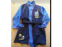 Thomas the tank engine dressing gown aged 4-5 years