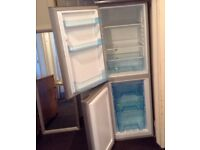 Logic Fridge/Freezer Silver