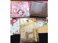 3 new note books