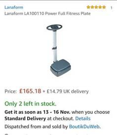 Lanaform la100110 vibro vibration plate
