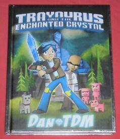 'Trayaurus And The Enchanted Crystal' Hardback Graphic Novel (as new)