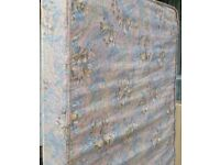 single size mattress, 190 x 90 x 15cm thick. In clean condition.
