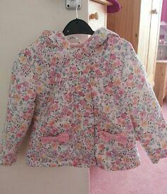Floral coat 2-3yrs
