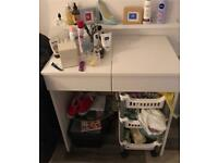 **SOLD** WHITE DRESSING TABLE **SOLD**