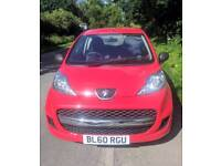 Peugeot 107, great first car, low milage, great condition