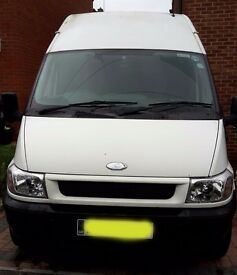Ford Transit LWB Hi Top 2.4 turbo diesel