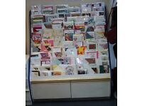 Large Greeting Card Display Unit / Price is £100 or nearest offer
