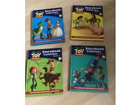 4 Large Toy Story H/B Books
