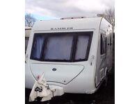 Exceptional 2 Berth Caravan Elddis Rambler 12/2SE with mover