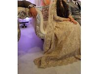 Asian wedding dress in immaculate condition!!???