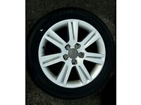 Audi A4 - 4 alloy wheels +tires