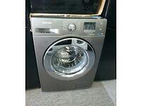 Samsung WF70F5E2W2X 7KG 1200 Spin Washing Machine-Graphite (SBAR2381406040378)