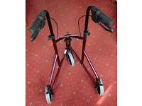 Mobility Walker Walking Aid - 3 Wheeled Lightweight Folding - Ascot Berkshire