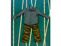 Boys shirt and trousers set 18-24 months