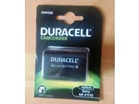DURACELL DR9706B 7.4V 1640mAh Replacement Camcorder Batteries for Sony NP-FV70