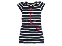 Hatley Girls Anchor Dress Age 4 Brand New!!!!