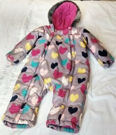 Snowsuit - Excellent condition - Toddler's Waterproof Snuggly Padded Snowsuit £10