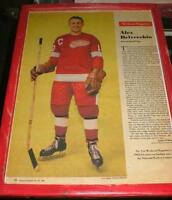 Original Six - Detroit Red Wings pics- 1960's - 4 diff