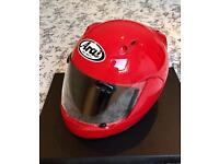 Arai Quantum-F size small motorbike helmet great condition