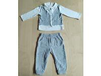 2 Piece Calvin Klein Dressy Vest Baby Boys' Clothes Bundle Set 12 Months