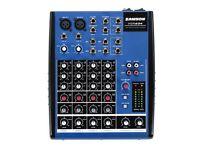 Samson MDR625 Mixer *Like New*