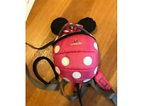 Little life Minniemouse back pack with reins
