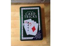 Unused Tin of Card Tricks