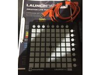 Novation Launchpad Mini USB Midi Controller with USB cable and Ableton Instructions