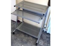 Metal Mesh style computer desk for sale