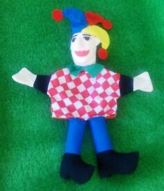 Brand New Jester Hand Puppet.
