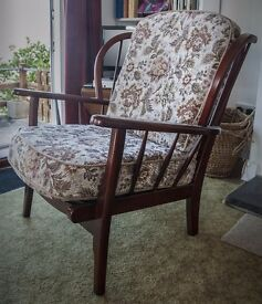 ercol type armchair, excellent condition