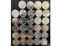 London Olympic Coin 2012 Full Set (29 coins).