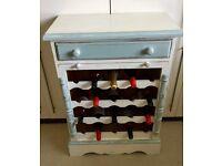 VINTAGE 20 BOTTLE WINE CABINET ~ KITCHEN ~ DINING ROOM ETC