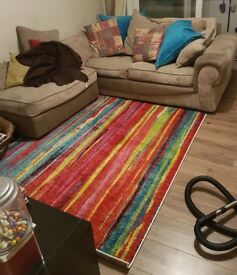 Bright & Colourful 8' by 5' Rug - Brand New