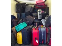LARGE JOB LOT of 50 USED SUITCASES Various Sizes Brands Styles Collect from Radlett in Herts