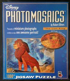Photomosaics: 'The Lion King'