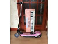 Pink Electric Scooter for Kids