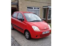 Chevrolet Matiz 1.0, Excellent condition, 30k miles, 56 plate in red